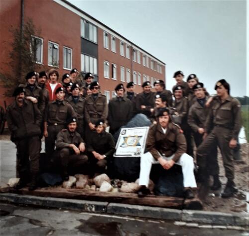 1976 1981 B Esk 103 Verkbat Eskadrons en groepsfotos Inz. Louis Beeke 2