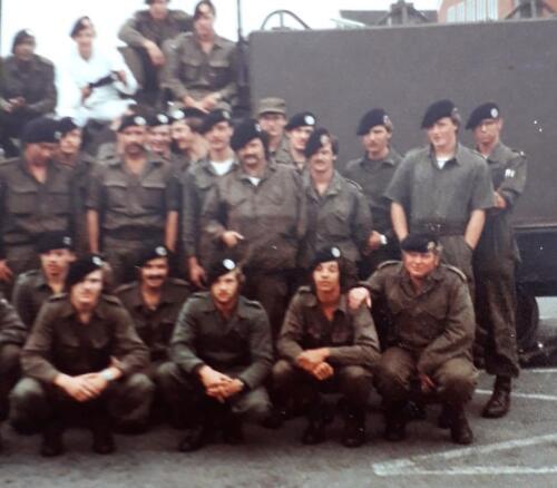 1976 1981 B Esk 103 Verkbat Eskadrons en groepsfotos Inz. Louis Beeke 3