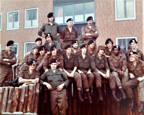1976 1981 B Esk 103 Verkbat Eskadrons en groepsfotos Inz. Louis Beeke 4