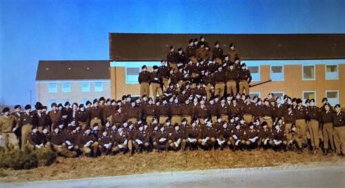 6. 1979 B Esk 103 Verkbat Eskadronsfoto Re Owi Tuerlings 2e li inz. Louis Beeke