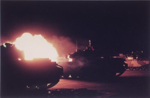 7. 1961 - 1963 103 Verkbat; Schietserie met de Centurion tank
