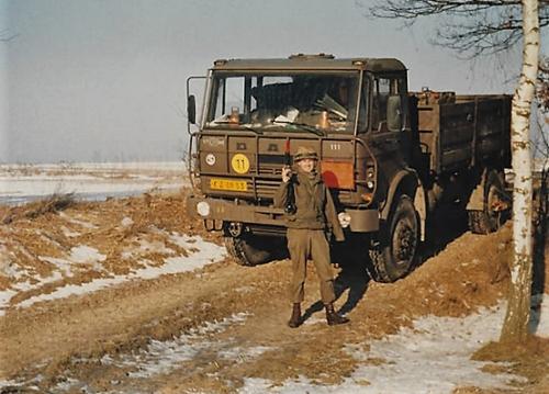 1979 1980 SSV Esk 103 Verkbat BOS DAF op missieInzender John Pettinga