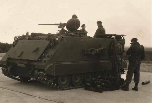 8. 1966 - 1967 A-Esk Kwinten 103 Verkbat Schietseries; M106 Mortier 120 mm