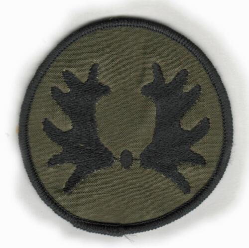 De diverse uitvoeringen van het Trakehner embleem voorbehouden aan het 103e verkenningsbataljon. 10