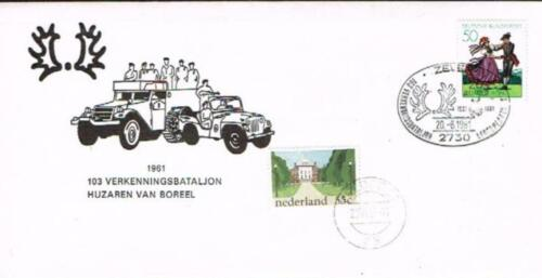De diverse uitvoeringen van het Trakehner embleem voorbehouden aan het 103e verkenningsbataljon. 11