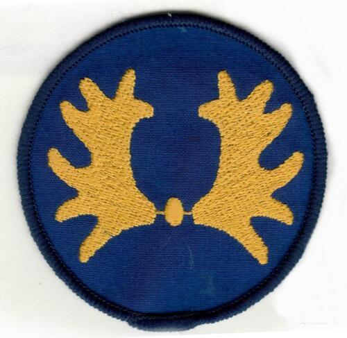 De diverse uitvoeringen van het Trakehner embleem voorbehouden aan het 103e verkenningsbataljon. 8