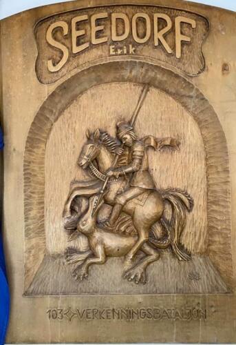 Een stukje houtsnijkunst Inz. Rick Ringers