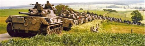 Een tankbataljon Leopard I