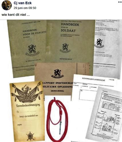 Handboek soldaat en overige zaken.