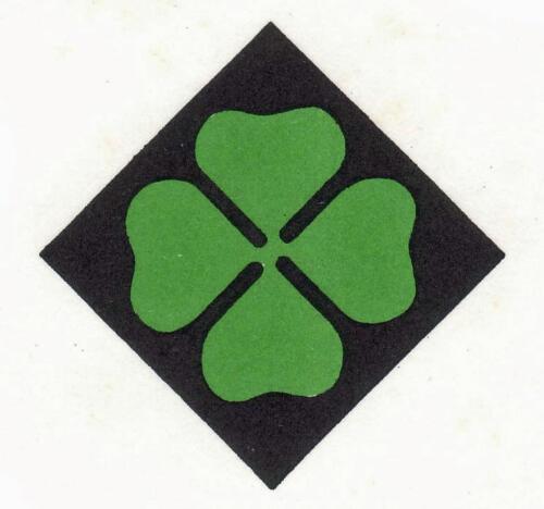 Het embleem van de voormalige 4e divisie