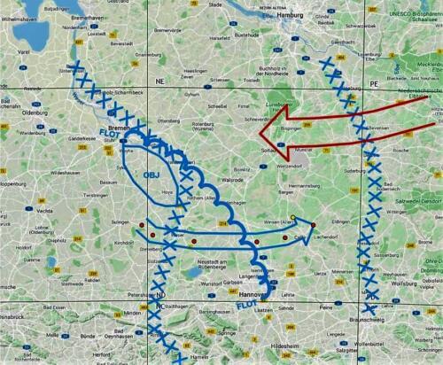 Map 11. 1978 Oefening Saxon Drive