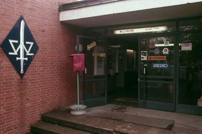 1970 Legerplaats Seedorf Ingang WZZ en BASH PANT winkel