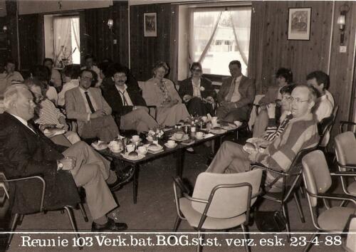 1988 04 23 SSV Esk 103 Reunie BOG Inz. Peter Haans