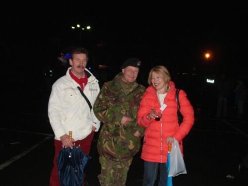 2006 04 22 Impressie van de laatste dag NL Seedorf Inz. Hans en Christine Kuijpers met Robert Polman Tuin PT