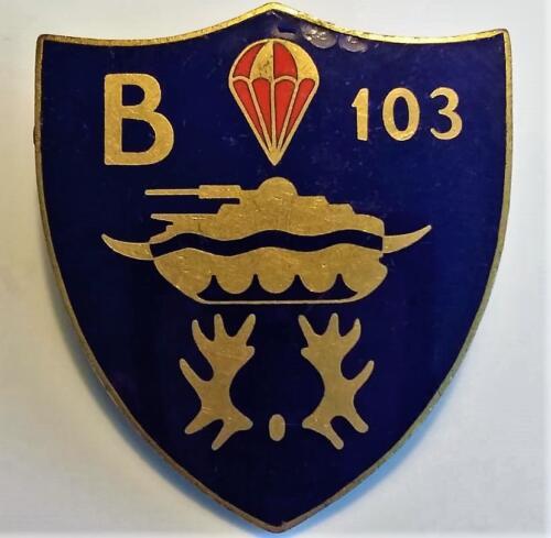 1970 B Esk 103 Verkbat informeel borstzakembleem voor degenen in bezit van een parabrevet 1