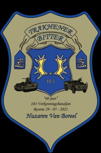 2021 05 29 Ontwerp etiket voor Trakehnerbitter 60 jaar 103 Verkbat 2