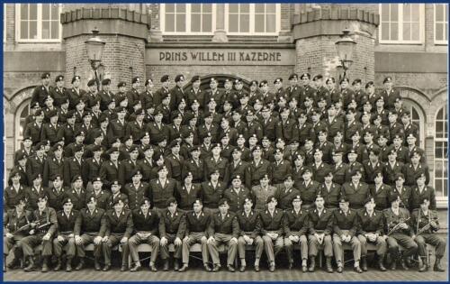 1967 Willem III Amersfoort Schoolesk EC Ritm Gonzales. Kader zie opdruk. Lichting n.b.