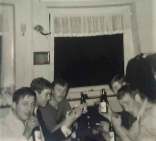 1967 12 A Esk 103 Verkbat li 67 2 Esk Ritm Scouten Elnt Nix en Owi Brunschot. Kerstviering 1967. Inz. Martin Elsman 3