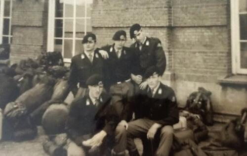 1967 4 A Esk 103 Verkbat li 67 2 Einde 1e oef en opleiding Willem III. Naar Seedorf Inz. M Elsman