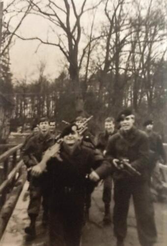 1968 01 A Esk 103 Verkbat li 67 2 Esk Marsen met bewapening Ritm Scouten Elnt Nix en Owi Brunschot. Inz. M Elsman 1