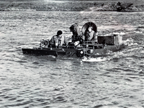 1967 A Esk 103 Verkbat Oef Wesersprong Inz. Frans Fontein