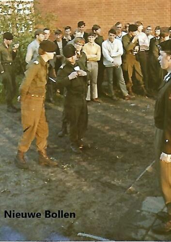1970 1971 SSV Esk 103 Verkbat Opkomst nieuwe Indas lichting Inz. Peter Haans