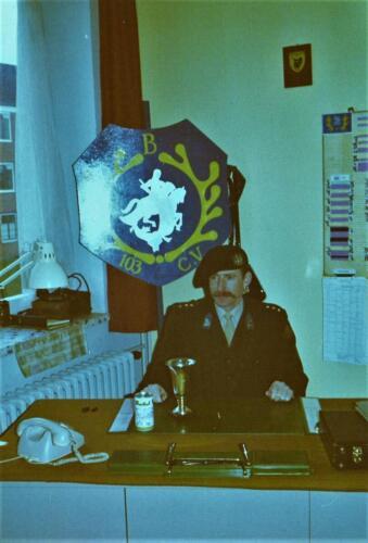 Map 5. 1975 B Esk 103 Verkbat Eskadronscommandant Hans J. R. Karssing