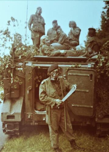 1974 1975 A Esk 103 Verkbat Oef Rust Roest Tirailleurbak Inz. Harry de Groot