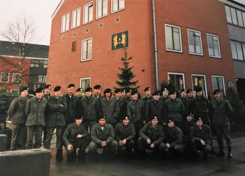 1983 1986 A Esk 103 Verkbat Rechts Wmr Chris Neerbos Inz. Sgt Maurits