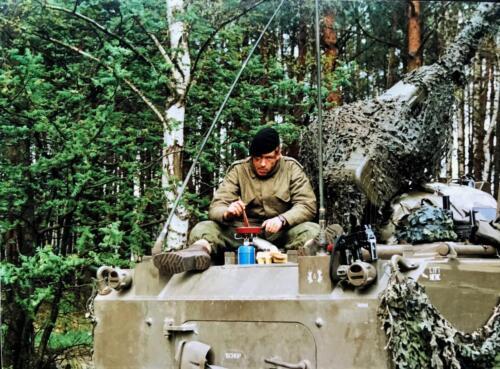 1988 1989 A esk 103 Verkbat Oef. 1e pel 88 4 Verkennend voorwaarts in rood... Inz. Rolf Jan Goosen. 2