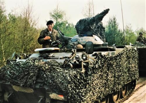 1988 1989 A esk 103 Verkbat Oef. 1e pel 88 4 Verkennend voorwaarts in rood... Inz. Rolf Jan Goosen. 4