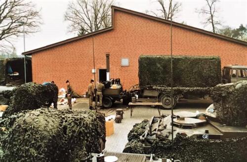 1988 1989 A esk 103 Verkbat Oef. Klasse I het goulashkanon. Inz. Rolf Jan Goosen.