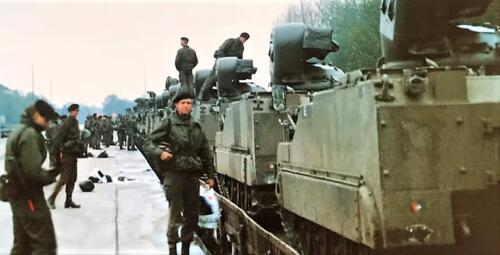 1988 1989 A esk 103 Verkbat Oef. Treinladen. Inz. Rolf Jan Goosen.