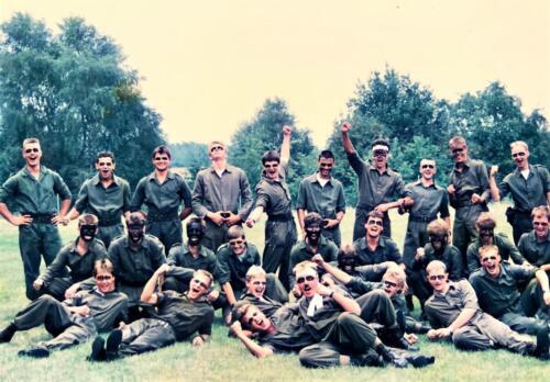 Map 8. 1988 1989 A esk 1e Pel li 88 4 en 5 103 Verkbat Enthousiast pel gereed voor actie Inz. Rolf Jan Goosen.