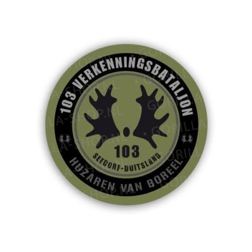 Sticker 103 Inz. Patrick Broodman